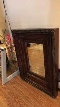 Absolutely gorgeous antique mirror, very very old. Located in New Haven... New Haven, 06512