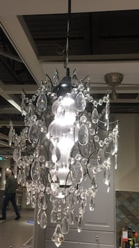 silver and white uplight chandelier Vaughan, L4L 3C9