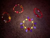 red and yellow beaded necklace Fresno, 93706