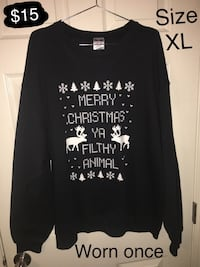 Sweater Size XL Merced, 95348