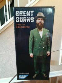 Brent Burns bobblehead figurine box San Jose, 95136