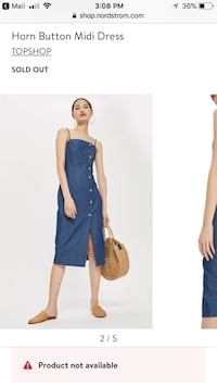 Topshop Denim Dress Irvine, 92614