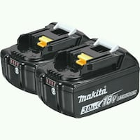 Makita batteries 3.0/18volt Calgary, T2A 6E4