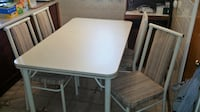 Retro Kitchen Table and Chair  Vaughan