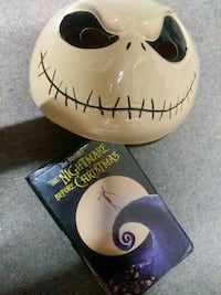 Nightmare before Christmas vhs tape and Jack Skell