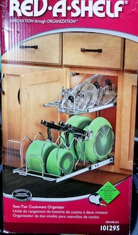 Two-Tier Cookware Organizer Edmonton, T5L 4Y8