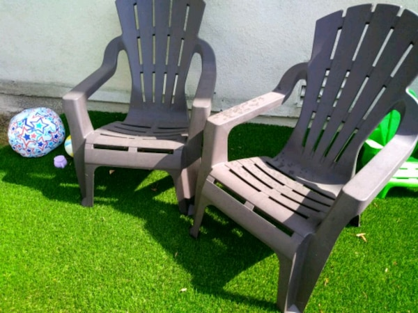 Sold 2 Patio Or Lawn Chairs In
