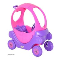 pink and purple plastic toy