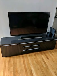 Ikea Entertainment center (Black) Baltimore, 21201