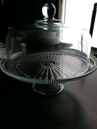 round clear glass bowl with lid Lubbock, 79416