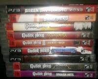Ps3 Guitar Hero Games Only Duffield, T0E 0N0