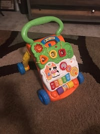 VTech sit to stand walker 243 mi