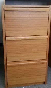 Wooden 3 drawer filing cabinet Washington, 20001