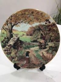 Fall Collector Plate (fine bone china)