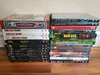 assorted DVD movie case lot Fredericton, E3A 4P6