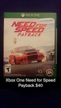 Xbox One Need for Speed Payback Knoxville, 37914