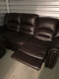 Brown leather couches New Bedford, 02740