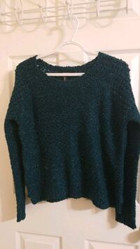 Cute Teal sweater from Forever 21!  Montréal, H3G 1M8