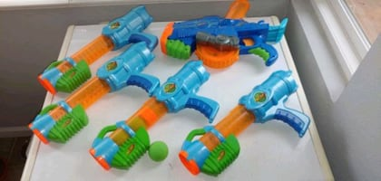 Nerf foam ball shooters