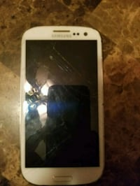 Samsung galaxy s3 cracked but functional Edmonton, T5H 3V9