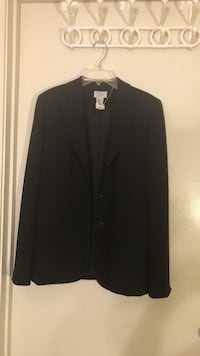 black notch lapel suit jacket Vienna, 22182