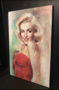 Marylin Monroe Canvas Henderson, 89002