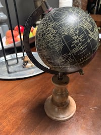 Decorative Globe... I've had it for at least 5 years.