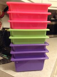 In Redwood City: 8 small bins for $7 Redwood City, 94062