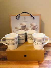 ED Charcoal Grey Mug Mixed, Set of 4 Crafted by Royal Doulton Brand New in Box  Toronto, M6C 2L7