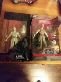 Rey StarWars action figures