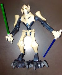 Star Wars Clone Wars General Grievous Animated Figure C-015D