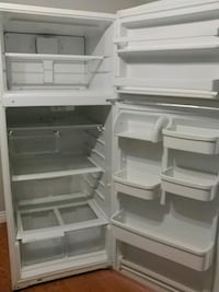 white top-mount refrigerator Surrey, V3R 9W9