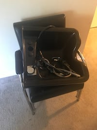 Black salon shampoo bowl and chair Suitland, 20746