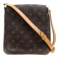 Louis Vuitton Monogram Canvas Musette Salsa Crossbody Bag Silver Spring, 20910