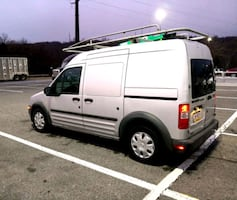 2011 Ford Transit Connect Cargo Van XL - Side/Rear Door Glass