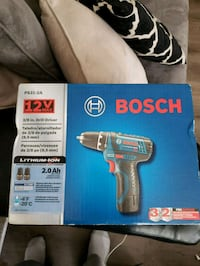 black and blue Bosch cordless impact wrench box Chatham County, 31419