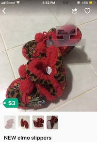 NEW elmo slippers Hyattsville, 20782