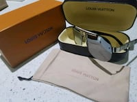 silver-colored framed Louis v sunglasses with case Fort Worth, 76112