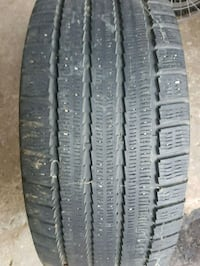 Michelin  arctic alpin winter tires 255 60 15  Richmond Hill