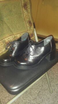 pair of black leather shoes Greenbrier, 37073