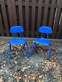 Two kids chairs.  Antique fisher price  Alexandria, 22306