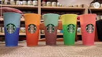 Starbucks colour changing cups! London, N5Y