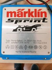 Marklin Sprint slot car Trafo