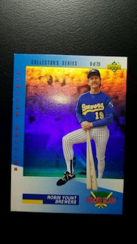 1993 Upper Deck Denny's Grand Slam Hologram Woodmore, 33884