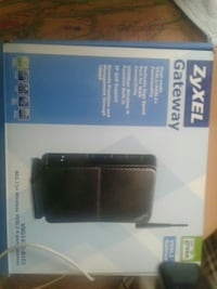 ZyXel Gateway wireless router box Edmonton, T5T 4G4