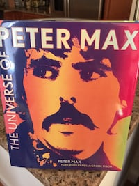 Hardcover: Universe of Peter Max - NEW.