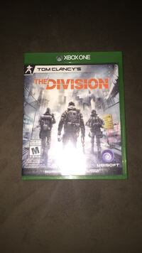 Tom Clancy's The Division Xbox One game case Vaughan, L4H 2R1