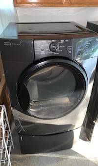 Kenmore Elite HE4t Washer and Dryer set with bottom drawer stands.  Falls Church, 22043