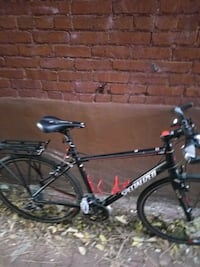 black and gray Trek hardtail mountain bike Arlington, 22202