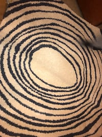 Cream and Navy Area Rug Odenton, 21113